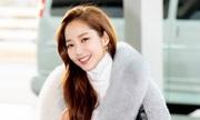 'Thư ký Kim' Park Min Young gây chú ý tại sân bay