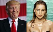 Amber Heard, Donald Trump nhận đề cử Mâm Xôi Vàng