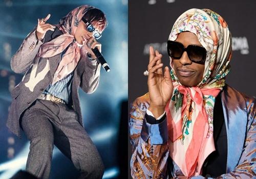 Sơn Tùng và A$AP Rocky.