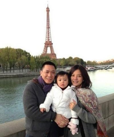 Gia đình Triệu Vy.