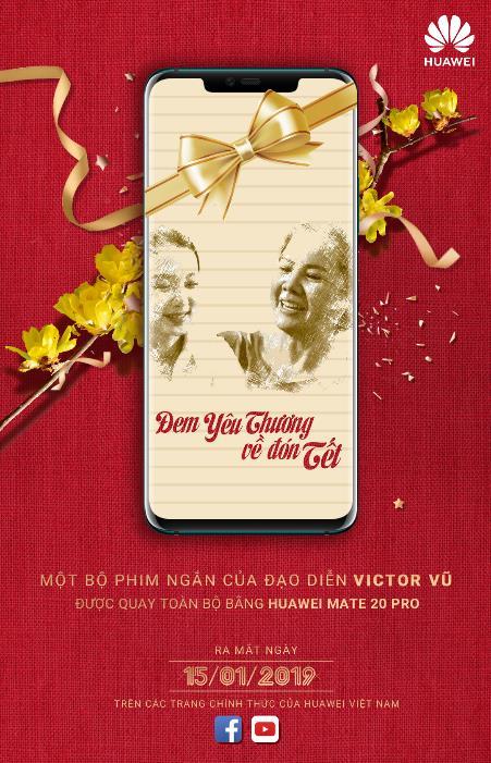 Phim ngắn Đem yêu thương về đón Tết sẽ được chiếu trên MXH từ ngày 15/1.