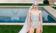 Cô dâu của Chanel mặc áo bơi couture