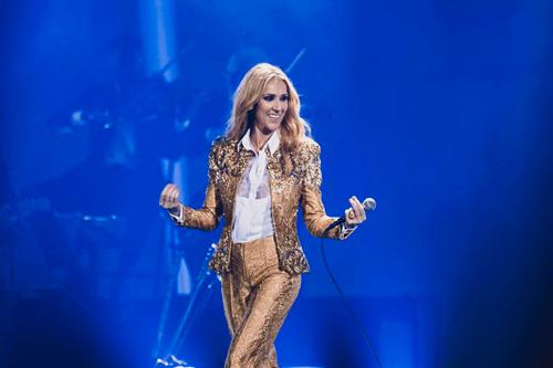 Celine Dion khi đi lưu diễn châu Á hồi tháng 11/2018.