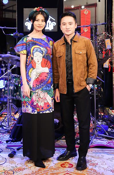 Bùi Lan Hương (trái) và Phan Mạnh Quỳnh.