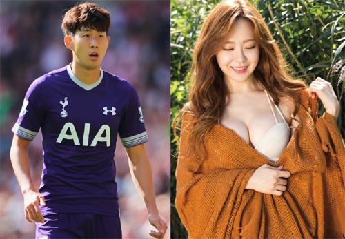 Năm 2016, The Fact công khai loạt ảnh Son Heung-min đi chơi cùng mỹ nhân bốc lửa Yoo So-young (cựu thành viên nhóm After School). Lúc bấy giờ, chuyện tình không được fan của Son Heung-min ủng hộ vì nữ diễn viên hơn anh sáu tuổi. Nguồn tin trên Osen cho hay gia đình của Son Heung-min không tán thành mối quan hệ, nhất là bố anh - cựu cầu thủ Son Woong-jun. Mối quan hệ tan vỡ năm 2016. Những ồn ào tình cảm với mỹ nhân làng giải trí khiến nhiều khán giả gọi anh là cầu thủ sát gái của Hàn Quốc.