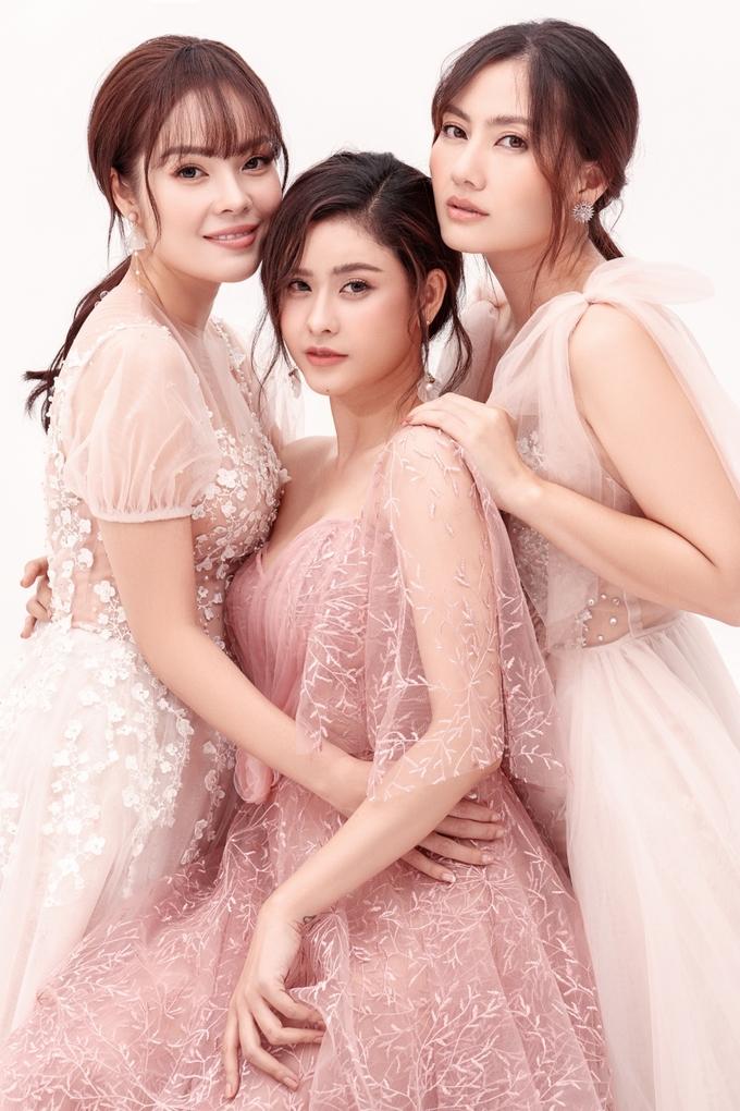 Trương Quỳnh Anh, Dương Cẩm Lynh, Ngọc Lan diện váy cưới