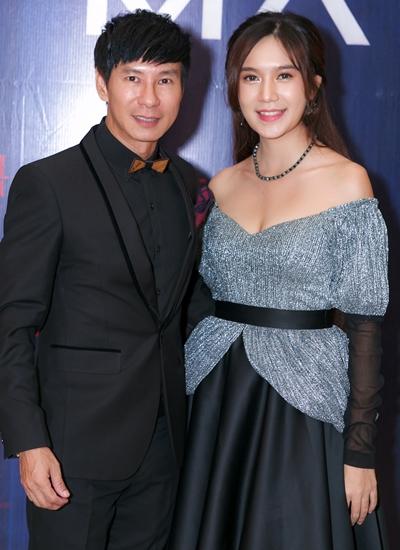 Lý Hải - Minh Hà ở buổi ra mắt dự án hồitháng 12/2018.