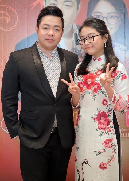 Quang Lê và Phương Mỹ Chi.
