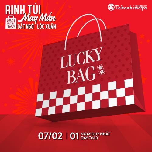 Chiếc túi với tông màu đỏ truyền thống ấm áp cùng kiểu dáng sành điệu ẩn chứa nhiều điều bất ngờ chính là món quà đầu năm ý nghĩa mà Takashimaya muốn dành tặng bạn.