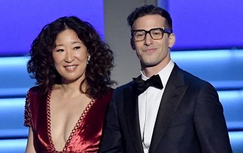 Sandra Oh và Andy Samberg sẽ dẫn lễ trao giải Quả Cầu Vàngnăm nay.