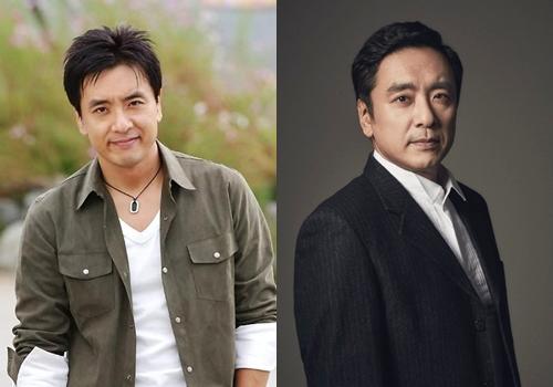 Kim Seung Woo thuở 26 tuổi (trái) và hiện tại - 50 tuổi (phải).