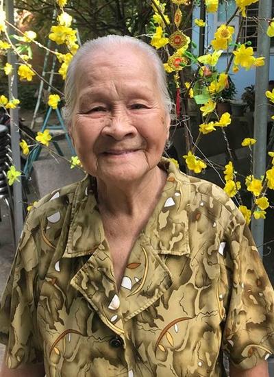 Nghệ sĩ Ngọc Đáng ở tuổi 92.