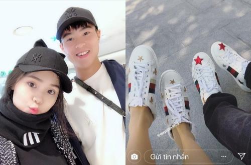 Sở thích diện áo đôi cùng người yêu của cầu thủ Việt  - 7