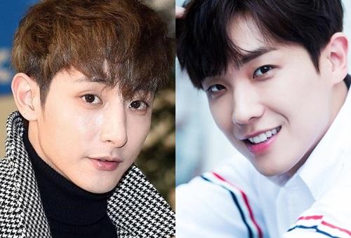 Lee Soo Hyuk và Lee Joon đều sinh năm 1988, cùng dự kiến ra quân vào ngày23/7. Họ có 21 tháng làm lính tại ngũ, xung phong vào các đơn vị tuyến đầu - nơi diễn ra những trận đánh bom ác liệt.Lee Soo Hyuk (trái) cao 1,84 m, là một trong những người mẫu hàng đầu Hàn Quốc và có nhiều vai diễn hay trên màn ảnh. Anh từng là một trong 13 gương mặt mẫu nam thế giới bứt phá mùa Thu Đông 2013 và là đại diện duy nhất đến từ châu Á. Lee Joon (phải)sinh năm 1988, từng là thành viên của nhóm nhạc thần tượng MBLAQ. Tài tử ghi dấu ấn với loạt phim Kẻ sát nhân bí ẩn (Gap Dong), Xin lỗi anh chỉ là sát thủ, Bóng ma, Thế giới tin đồn, Thám tử ma cà rồng...