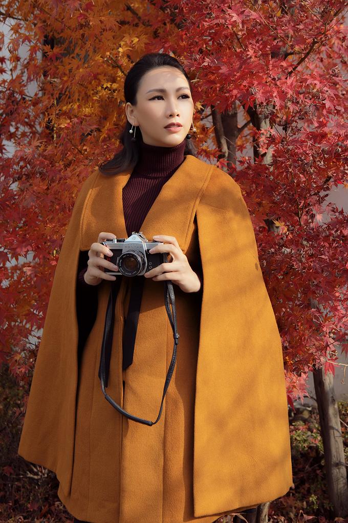 Người mẫu Việt khoe street style ở Nhật Bản