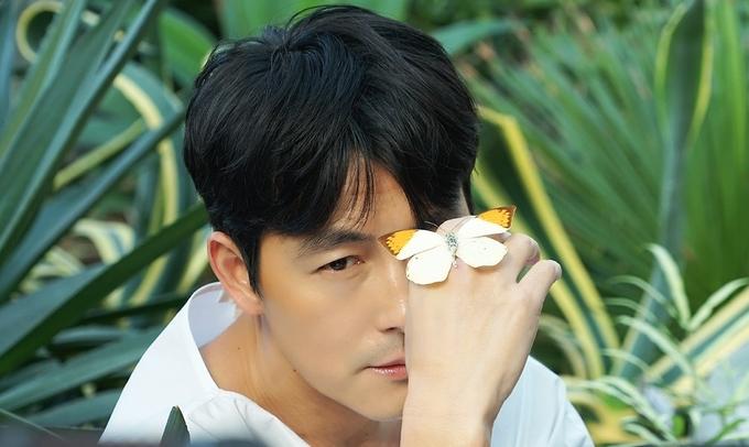 Jung Woo Sung lịch lãm trong bộ ảnh xuân - VnExpress Giải Trí