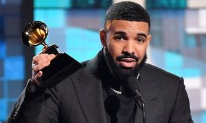 Drake bị cắt phát biểu giữa chừng tại Grammy