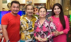 Gia đình Lý Hùng quây quần trong MV xuân