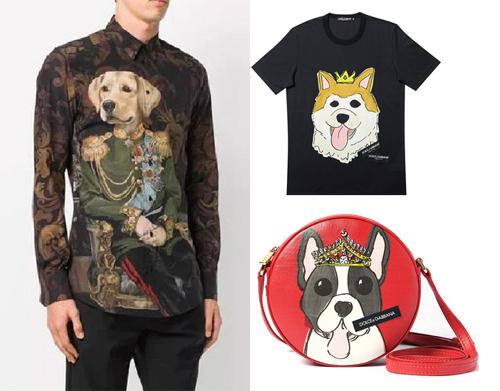 Các thiết kế mừng năm con chó của D&G.