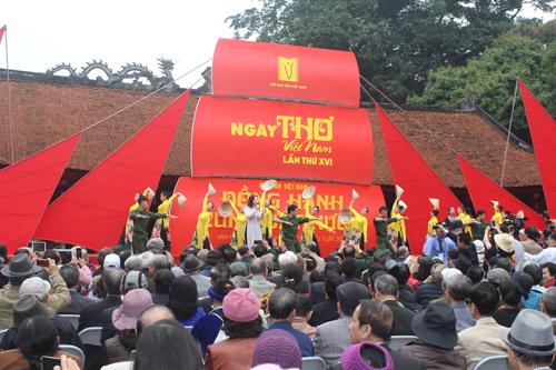 Không gian Ngày thơ Việt Nam 2018.
