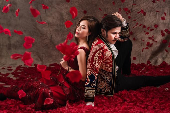 Diễn viên 'Gạo nếp gạo tẻ' cùng chồng sắp cưới chụp ảnh Valentine
