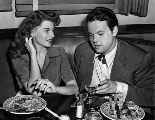 Orson Welles và Rita Hayworth.