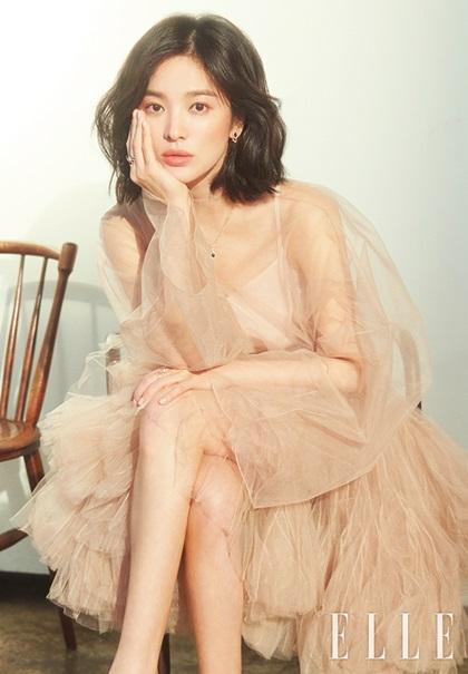 Song Hye Kyo hóa Nữ thần mùa xuân trên tạp chí - 1