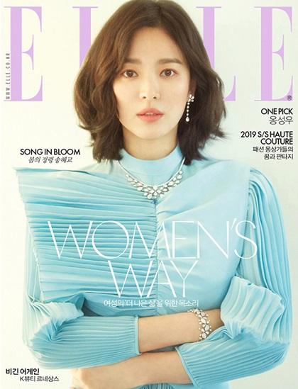 Song Hye Kyo hóa Nữ thần mùa xuân trên tạp chí