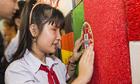 Họa sĩ Nhật triển lãm tranh vì người khiếm thị ở TP HCM