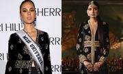 Hoa hậu Catriona Gray bị nghi mặc váy nhái