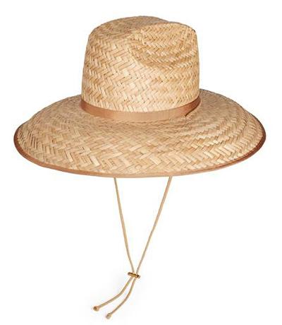 Gucci cho biết mũ được làm từ rơm, sản xuất trong xưởng tại Italy, có phần dây màu be đi kèm và dây rút phía dưới cằm, đảm bảo tiện lợi,giá 392 USD (khoảng 9 triệu đồng).