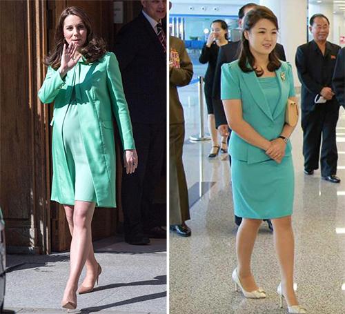 Tại lễ khánh thành nhà ga mới của sân bay quốc tế Bình Nhưỡng năm 2015, Ri một lần nữa gây chú ý. Phu nhân Ri Sol-ju khiến mọi người khen ngợi bằng bộ váy kèm áo màu xanh. Hồi đầu năm 2018, công nương Kate cũng mặc chiếc váy tương tự.