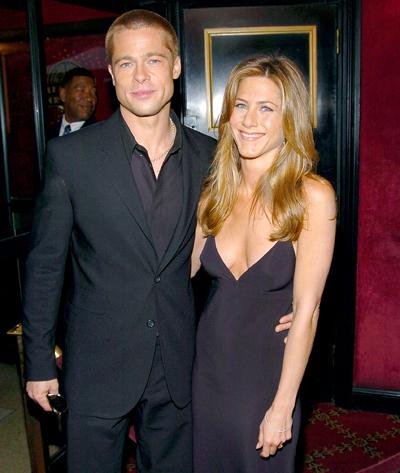 Brad Pitt và Jennifer Aniston bên nhau năm 2004. Ảnh: WireImage.