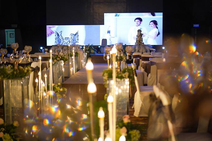 Không gian cưới như vườn cổ tích của diễn viên Vũ Ngọc Ánh