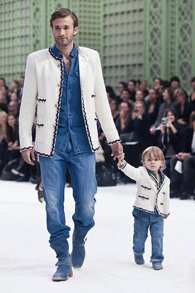 Brad Kroenig và con trai Hudson Kroenig.