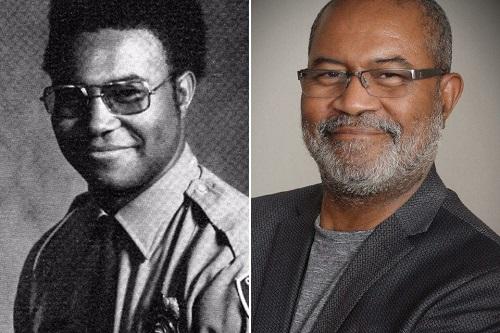 Ron Stallworth ở thập niên 1970 (trái) và hiện tại.