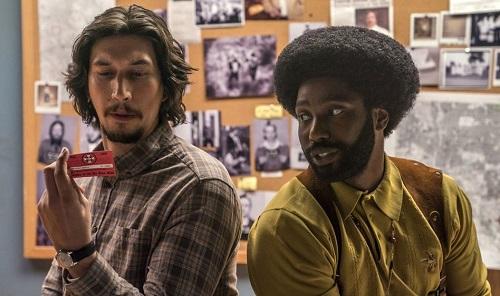 Adam Driver (trái) vàDavid Washington đều ghi dấu ấn trong phim.