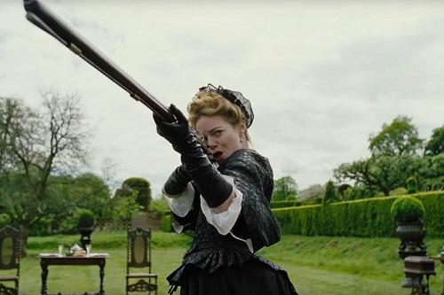 Trò tiêu khiển bắn chim là nơi Sarah và Abigail thường