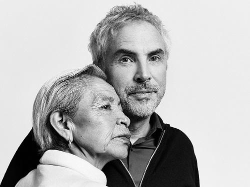 Alfonso Cuarón (phải) và bà Libo (ảnh: Variety).