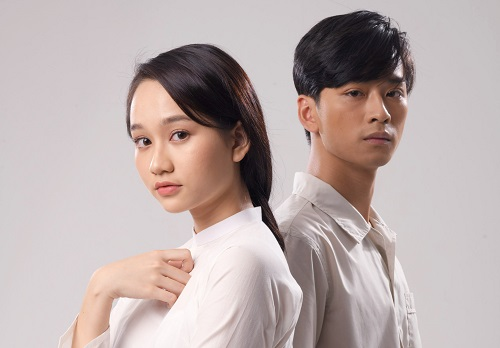 Nguyễn Trúc Anh và Trần Nghĩa - nam chính trong Mắt biếc.