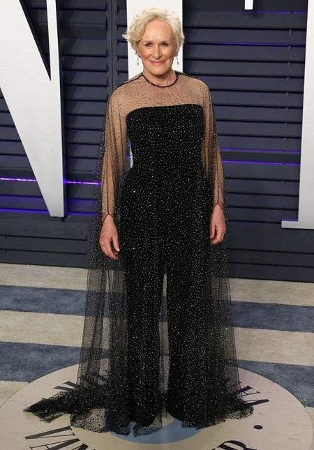 Glenn Close ở tiệc hậu Oscar. Ảnh: AFP.