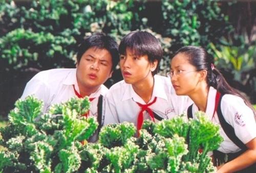 Bộ ba nổi tiếng trong phim Kính Vạn Hoa.