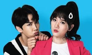 Hari Won đóng cặp tài tử Hàn Quốc trong phim mới