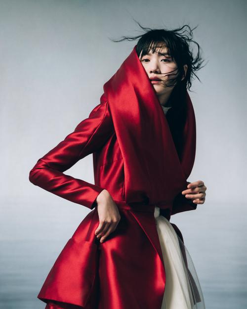 Hoa hậu Nhật Bản, gương mặt campaign của Balmain Kiko Arai trở thành nàng thơ mới của PHUONG MY (xin bài edit) - 6