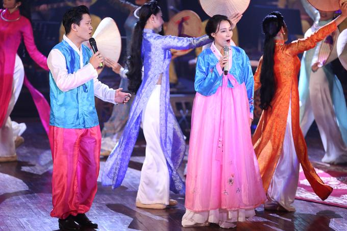 Hồng Nhung tổng duyệt chương trình 'Ánh dương mùa xuân'