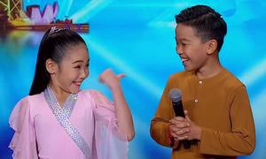 Hai em bé Việt gây chú ý với bài múa ở 'Asia's Got Talent'