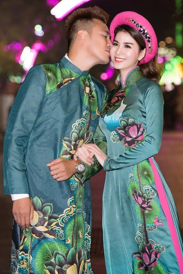 Vợ chồng Thanh Duy, Kha Ly sánh đôi trên sàn catwalk