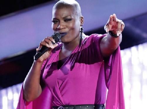 Janice Freeman tại cuộc thi The Voice Mỹ.