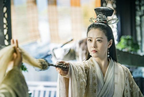 Tạo hình Diệt Tuyệt Sư Thái của Châu Hải My. Cô đóng cao thủ phái Nga Mi ở tuổi 53.