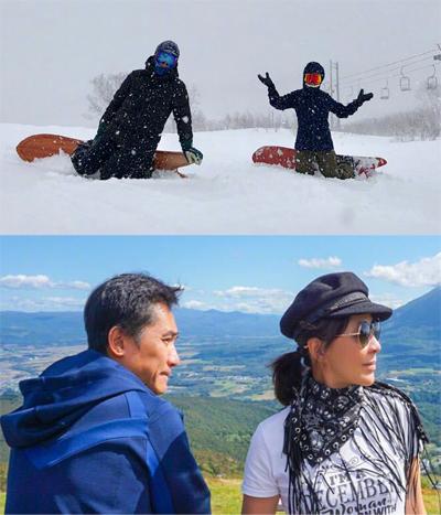 Từ giữa năm 2018, Lương Triều Vỹ dành nhiều thời gian du lịch một mình hoặc cùng vợ.